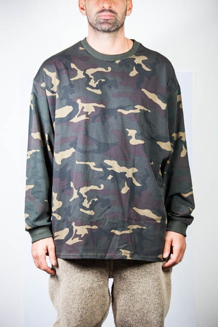 Camo tee long sleeve