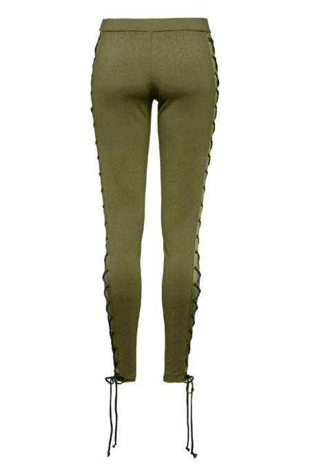 PUMA FENTY BY RIHANNA BOXING & BOMBER LACING TIGHTS GREEN
