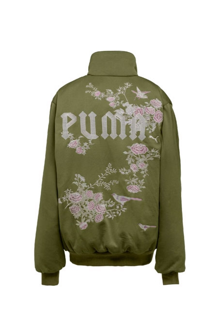 PUMA FENTY BY RIHANNA REVERSIBLE BOMBER JACKET