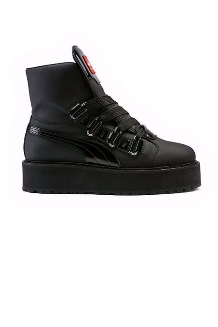 Sneaker boot black fenty by rihanna