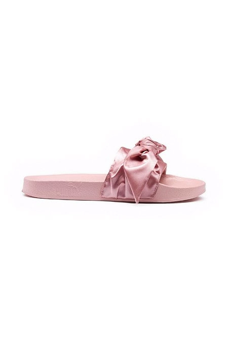 FENTY PUMA BY RIHANNA  - BOW WOMEN'S SLIDE SANDALS PINK