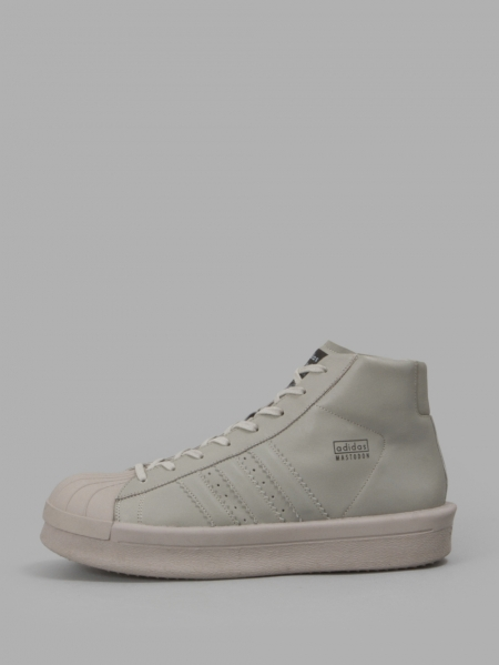 RICK OWENS x ADIDAS MEN'S GREY PRO MODEL SNEAKERS