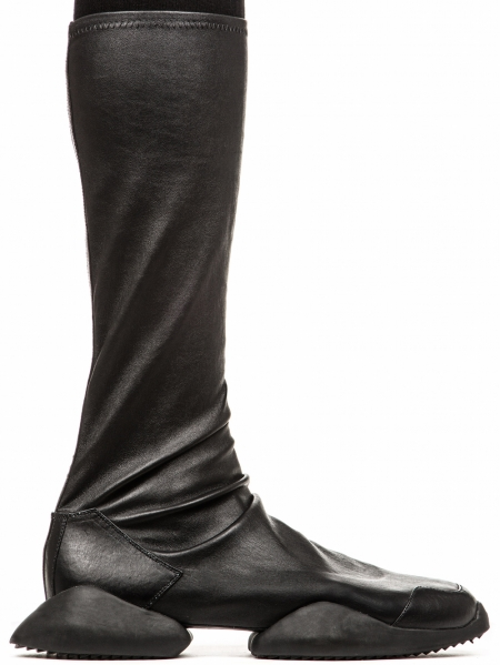 RICK OWENS FW16 ADIDAS RUNNER STRETCH BOOTS