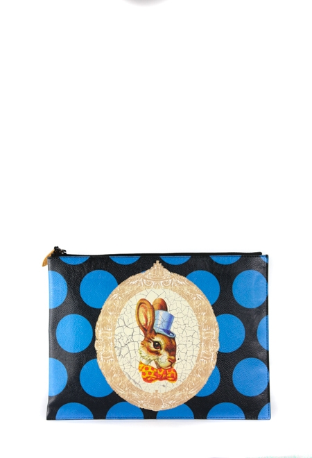 Clutch Bag with Bunny Rabbit