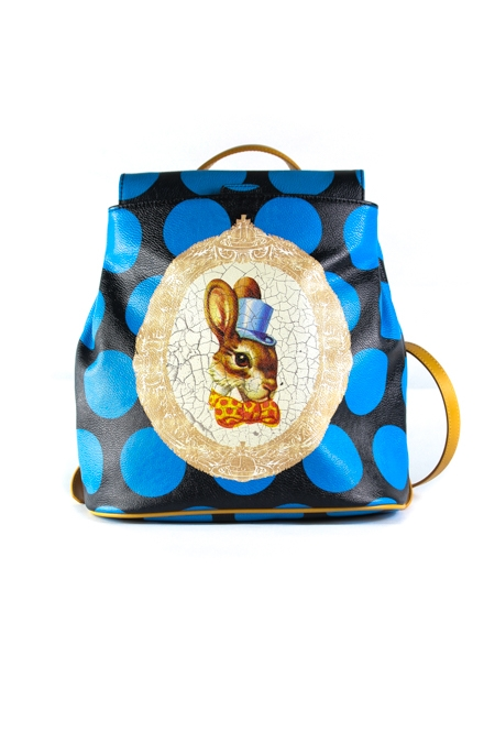 Bunny Print Backpack