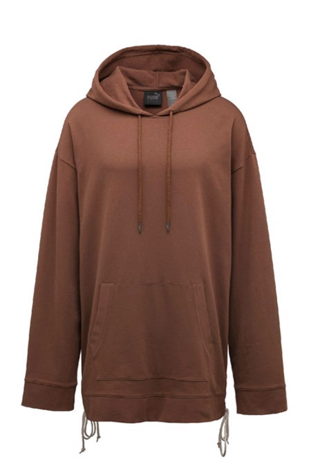 PUMA FENTY BY RIHANNA HOODIE WITH SIDE LACING BROWN