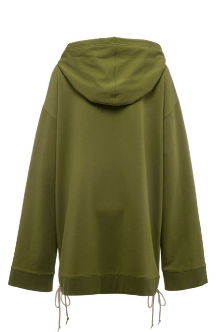 PUMA FENTY BY RIHANNA HOODIE WITH SIDE LACING green