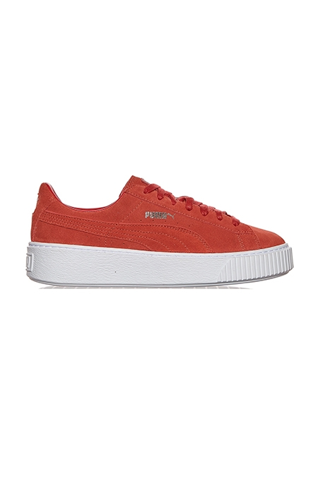 WMNS Suede Creepers Core Sneakers Red