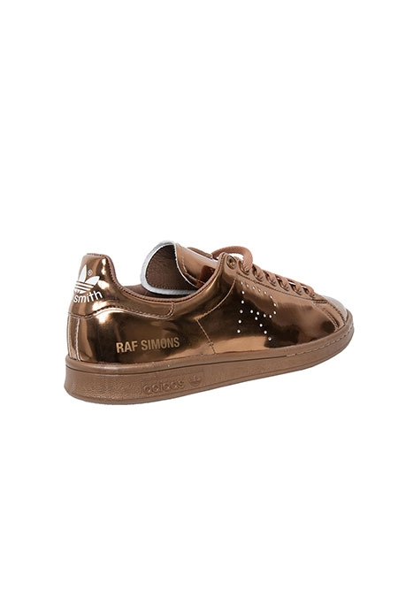 STAN SMITH GOLD/Adidas by Raf Simons