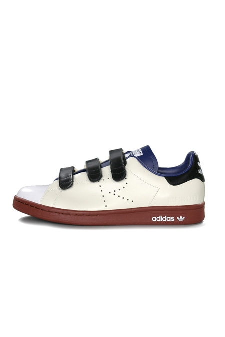Adidas Stan Smith Comfort x Raf Simons White/Dark Blue/Fox Brown