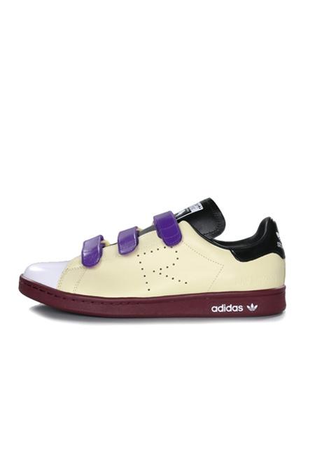 Adidas Stan Smith Comfort x Raf Simons Mist Sun/Black/Maroon