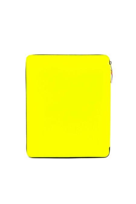 COMME DES GARÇONS WALLET  'New Super Fluo' iPad case
