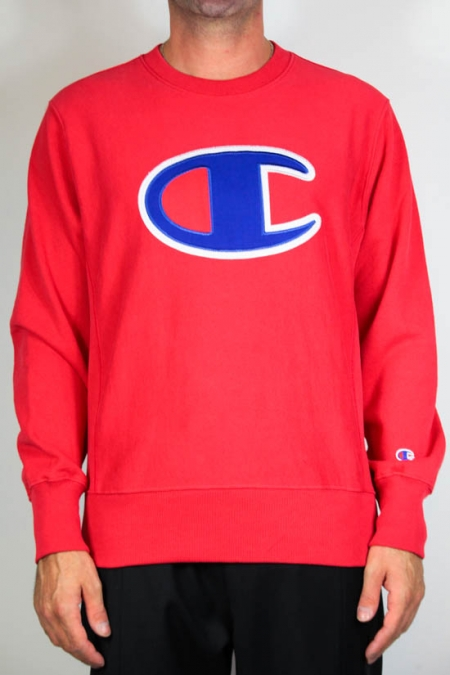 Champion Reverse Weave Big Logo Sweatshirt