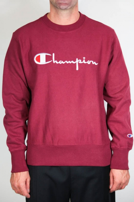 Champion Fleece Lined Box Logo Crew